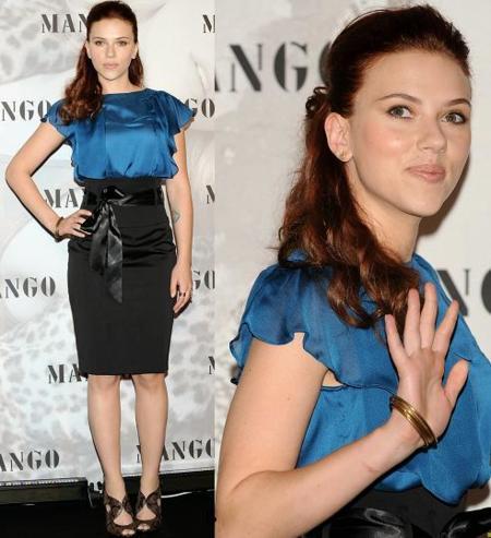 Scarlett Johansson en Madrid: la nueva cara de Mango
