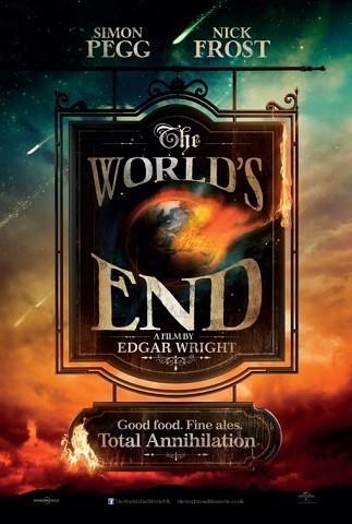 Imagen con otro cartel de 'The World's End'