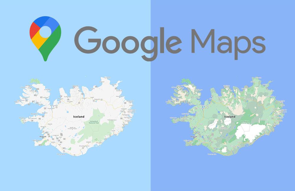 Google Maps estrena mapas mas detallados, precisos y coloridos: en este momento con pasos de peatones