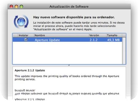 Aperture se actualiza a la versión 2.1.2