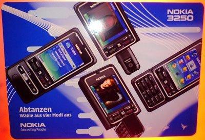 Nokia 3250, por fin se ha visto