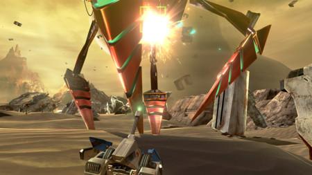 El desierto de Titania y la batalla espacial del Area 3 de Star Fox Zero en un par de gameplays
