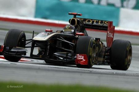 Nick Heidfeld Renault GP Malasia 2011 F1