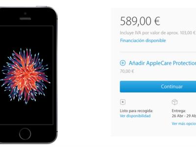 Los plazos de entrega del iPhone SE se alargan hasta finales de abril, ¿éxito de ventas?