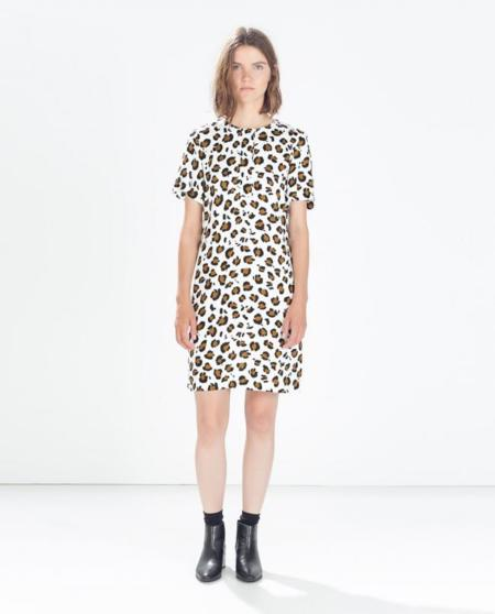 Clon estampado leopardo Stella McCartney Primavera-Verano Resort 2013 Zara