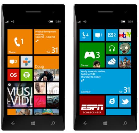 Nuevas funcionalidades de Windows Phone 8, en vídeo e imágenes