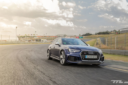 Audi RS4 2018 Prueba 10
