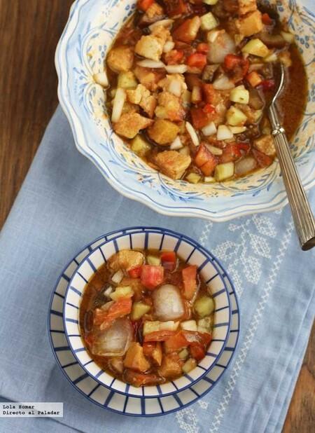 Gazpacho en ensalada, receta refrescante y sabrosa