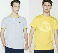 Lacoste lanza una colección de polos y camisetas con el cocodrilo más brasileño hasta la fecha