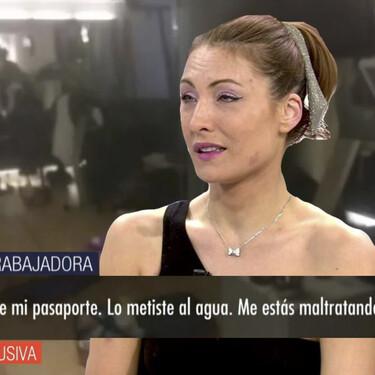 El vídeo que muestra lo que sucedió entre Alina y su novio, Gabriel, antes de que se desencadenara el 'show' del Caso Mainat