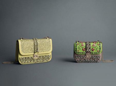 Los bolsos de Valentino primavera-verano 2013, perfectos para un look elegante, pero con un toque bohemio