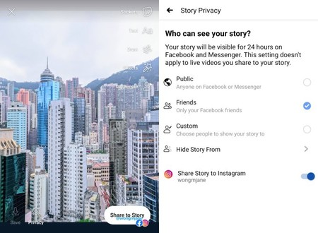 Cross Post Facebook Stories To Instagram