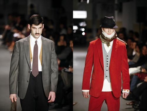 Antonio Miró, colección hombre otoño invierno 2008-2009