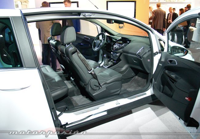 Ford B-Max MWC12 apertura puertas