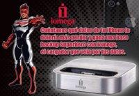 Participa en el Club de Applesfera con Iomega y gana una base SuperHero™