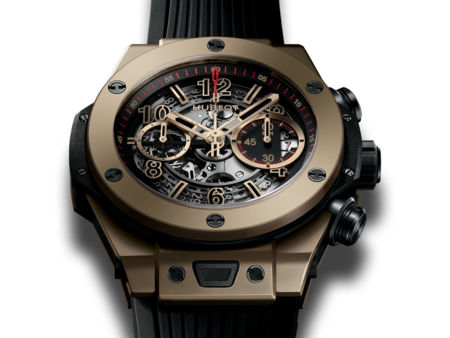 Hublot actualiza su modelo Big Bang Unico Full Magic Gold con oro resistente a arañazos y golpes