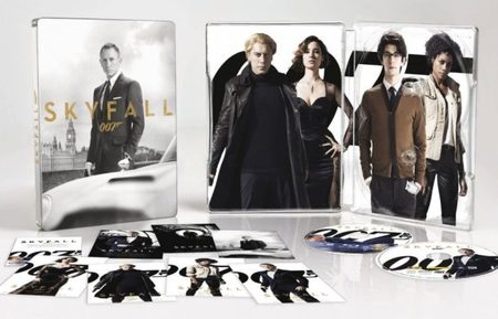 La edición metálica de Skyfall en Blu-ray