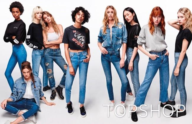 Topshop Denim Spring Summer 2017 Campaign01