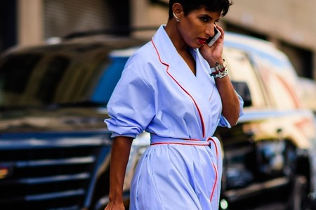 Así es el estilo de Deena Aljuhani Abdulaziz, la princesa saudí fan de las faldas abullonadas más buscada en el street style