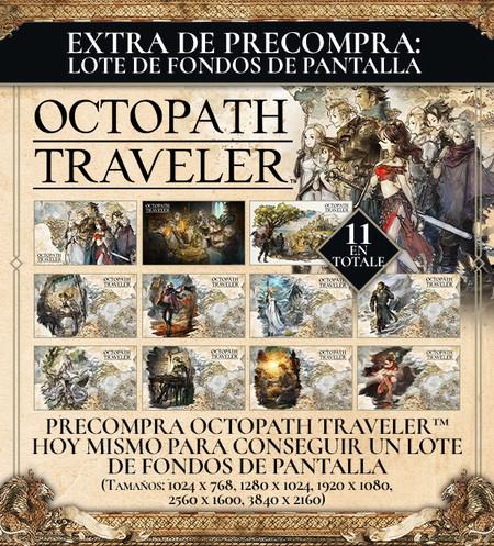 Octopath Traveler Fondos