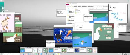 'Desktop Goose' es el juego perfecto para trolear a tus compañeros de trabajo o a cualquier otro incauto