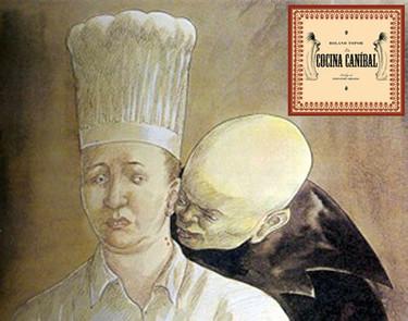 """""""La cocina caníbal"""", de Roland Topor"""
