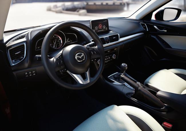 Mazda3 2013, interior