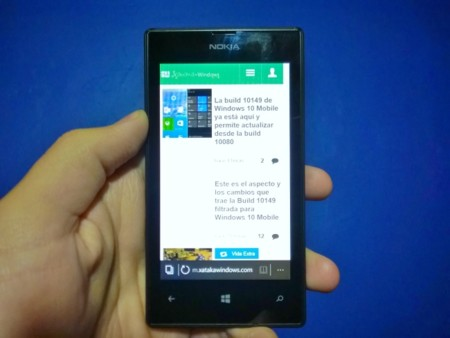 La build 10166 de Windows 10 Mobile llega al canal lento de Windows Insider
