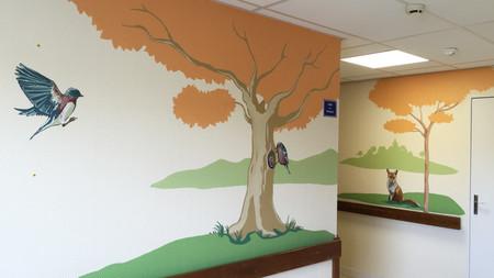 decoración hospitales