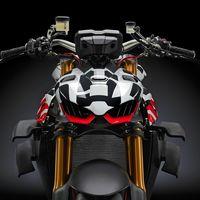 Un teaser de la Ducati Streetfighter V4 confirma que tendrá 208 CV, llevará apéndices laterales y pesará 178 kg