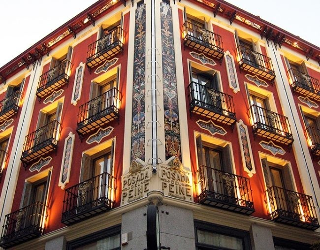 Hotel Petit Palace Posada Del Peine 4 6021