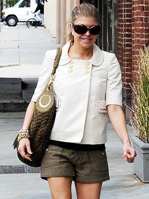 Fergie, ¡qué elegancia!