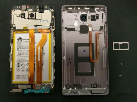 Huawei Mate 8 Teardown Mexico