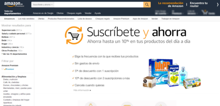 Amazon Es Suscribete Y Ahorra