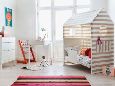 Stokke Home, la habitación que permite a los peques tener 'su propia casa' dentro de casa