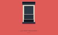 Curiosas y divertidas ilustraciones de las ventanas de Nueva York por Jose Guizar