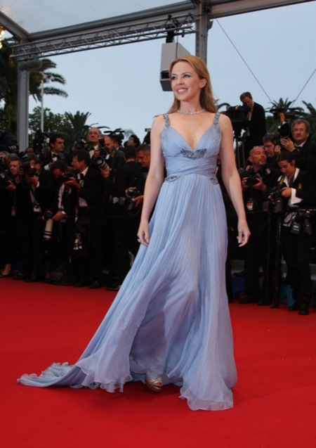 Kylie clausura Cannes 2012