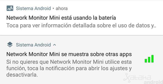 Android 8.1 notificaciones permanentes