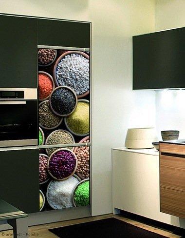 Qu se lleva en las paredes de las cocinas for Vinilos para banos y cocinas