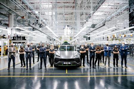 Lamborghini Urus llega a 15,000 unidades fabricadas y rompe récord para la firma de Sant'Agata Bolognese