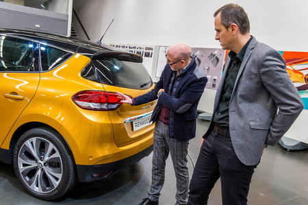 Renault Scenic diseño