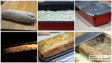 pan de molde paso a paso