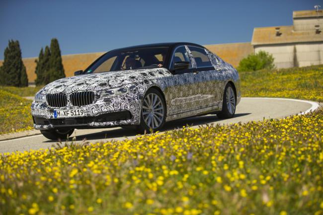 BMW Serie 7 oculto