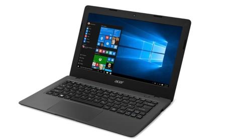 Llegan los Acer Aspire One Cloudbook: portátiles de batalla con Windows 10 y precio rompedor