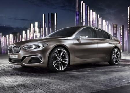BMW Concept Compact Sedan, el nuevo Serie 1 de cuatro puertas