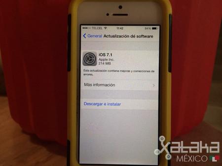 Características que obtendrás con iOS 7.1