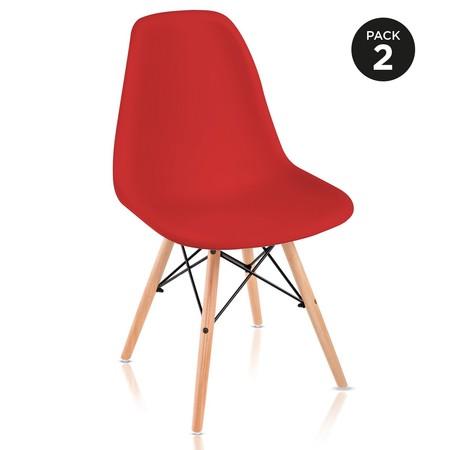 Puedes amueblar parte de tu casa por sólo 25,99 euros con a este pack de dos sillas McHaus en oferta durante la Super Week de eBay