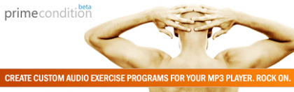 Primecondition, crea tu música para hacer ejercicio