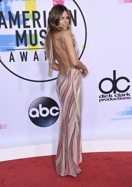 mejor vestidas american music awards 2017 heidi klum