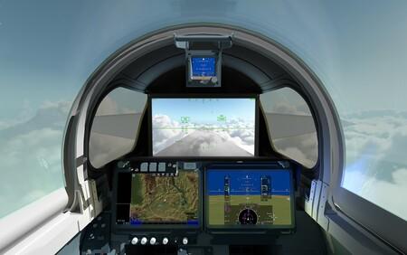 Un avión supersónico sin parabrisas: el piloto del X-59 usará cámaras y una pantalla 4K para ver lo que tiene delante